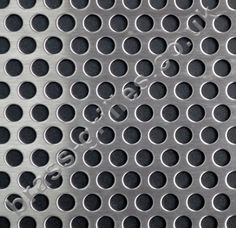 Matt stainless steel decorative grille panels. Ideal as radiator grilles in radiator covers, cabinet and door panel inserts, custom ventilation and general interior design and home improvement screening uses. Sheet size: 1000mm x 660mm x 1mm. Product Ref: MSS-RND635-T.