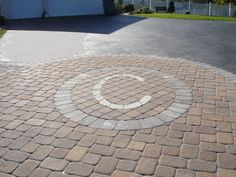 My plan for our front patio :) Driveway Apron, Driveway Entrance, Driveway Ideas, Patio Ideas, Backyard Ideas, Driveway Design, Hardscape Design, Brick Pavers, Landscaping Company