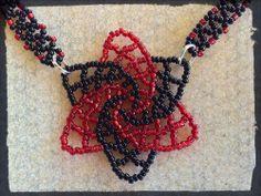 #DIY Spiral Netting Focal - Tutorial - no blogue de Smelly Nelly