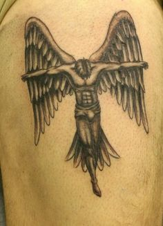 Lovely Angel tattoo - Fashion Today