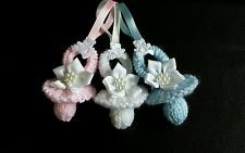 Knitting pattern Dummy Pram Charms Instructions