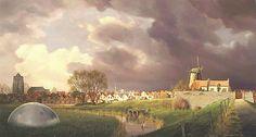 Theo Voorzaat. Dutch painter magisch realisme.