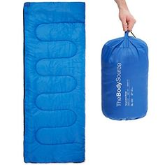 Camping Sleeping Bags - The Body Source Lightweight Envelope Sleeping Bag 25F ** For more information, visit image link.