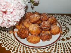 Jablkové šišky s mrkvou