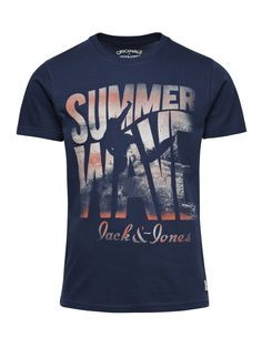 STAR TEE S/S ORG PB 1-6 2014 - Jack  Jones