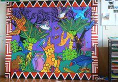 Insects and Bugs / Digistories / Learner examples / Teaching and Learning / Home - Arts Online Maori Legends, Maori Art, Jungle Theme, Art Google, Online Art, Home Art, Art For Kids, Art Ideas, Street Art