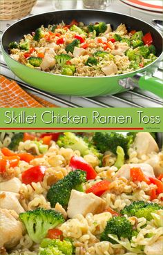 You can use budget-friendly ramen noodles to make this winning 20-minute chicken dinner. It's simply delicious!