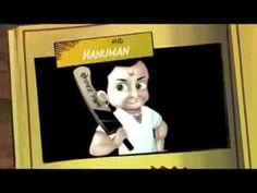 Hanuman Cricket teaser (Mobile Game)