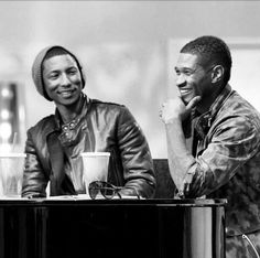 Pharrel Williams and Usher !!!