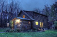 Skylights In A Log Home - ideal locations, what if they leak, how to install, and more!