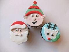 Santa and his Helpers by fairytalefrosting, via Flickr
