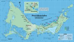 Provo, Turks & Caicos - Would love to get this map used as wallpaper!
