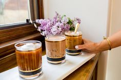 Learn how to make these three delicious iced coffee variations on LaurenConrad.com