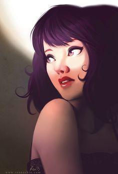 Portrait Illustrations by RenéeChio