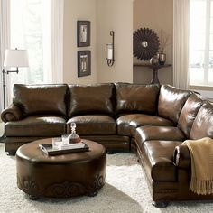 Sectional sofas are increasing in popularity once again, and for good reason! With many people still debating the idea over a sectional or s. Contemporary Living Room Furniture, Contemporary Sofa, Living Furniture, Fine Furniture, House Furniture, Living Room Seating, Living Room Sofa, Living Room Decor, Living Rooms