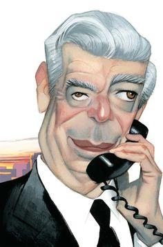 Mario Vargas Llosa by Fernando Vicente