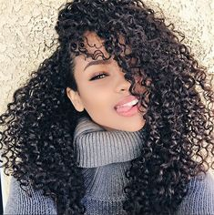 Cheap hair for black women, Buy Quality hair budles directly from China hair products Suppliers: Queens Hair Products Cheap Hair Budles 3 pcs Curly Short Hair For Black Women Peruvian Kinky Curly Hair Perruque Femme Naturelle Curly Hair Styles, Natural Hair Styles, Pelo Afro, Pelo Natural, Natural Waves, Queen Hair, Big Hair, Wavy Hair, Hair 24