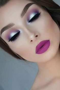 Eyemakeuppurple Augen Make-up Lila Im Jahr 2019 Beauty Make-up Eye - Wedding Makeup Glam Makeup Goals, Makeup Inspo, Makeup Inspiration, Makeup Ideas, Style Inspiration, Gorgeous Makeup, Pretty Makeup, Amazing Makeup, Perfect Makeup