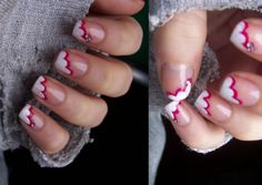 I want to do this but maybe with hearts shaped where they used the white and pink...