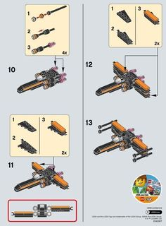 Star Wars - Poe's X-wing Fighter [Lego Legos, Bloc Lego, Star Wars Stormtrooper, R2d2, Lego Star Wars Mini, Construction Lego, Van Lego, Cuadros Star Wars, Lego Kits