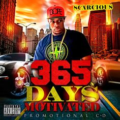 365 Days Motivated Cd Cover Artwork Designed by Graphicwind for more info contact www.graphicwind.com or email us at graphicwind@gmail.com #graphicwind #MixtapeCover #AlbumCover #SingleCover #CdCover #Artwork