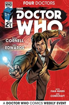 """OUT TODAY - REVIEW - Doctor Who: Four Doctors Issue #2 """"Their Fate Is Sealed"""""""
