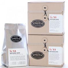 high-grown Ceylon black teas aged and scented in a Pinot Noir barrel  Method Noir - Black Teas - Steven Smith Teamaker