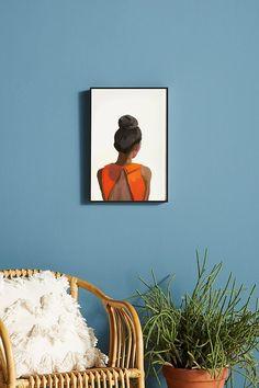 Top Knot 35 Wall Art Canvas Art Prints, Canvas Wall Art, Inspirational Wall Art, Top Knot, Fine Art Paper, Custom Framing, Home Art, Color Schemes, Poster Prints