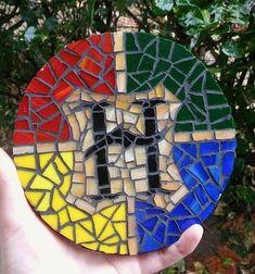 Mosaico de la casa de Hogwarts de Harry Potter por tortugapalooza