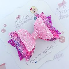 A place to find all the gorgeous hair accessories a girl could need. Tulle Hair Bows, Pink Hair Bows, Diy Bow, Diy Ribbon, Diy Leather Bows, Homemade Bows, Christmas Hair Bows, Crochet Bows, Scarlett