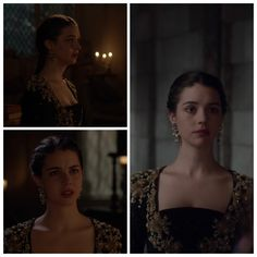 Mary's Black and Gold Dress (without cloak) 2x21: The Siege