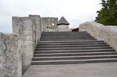 Celje Castle, Slovenia. Situated on a mountain top offers great views www.motorcycle-tours.travel