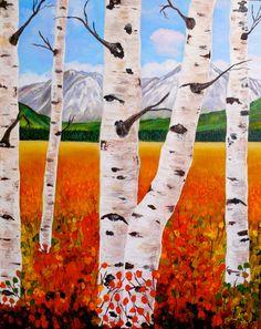 Carla Austen: Acrylic Paint.