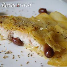 Persico alle patate con olive