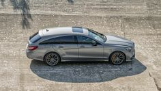 Meet the new Mercedes CLS 63 AMG - BBC Top Gear