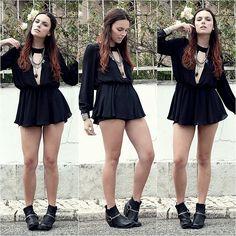 Za Mong Shirt, H&M Boots