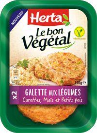 Recettes végétariennes : Le Bon Végétal | Herta - Le goût des choses simples