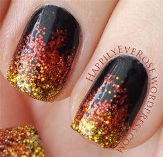 Thanksgiving Nail Art Designs 5