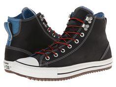 Converse Chuck Taylor® All Star® City Hiker Hi Black/Aero Blue - 6pm.com