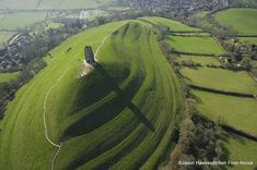 Myth and legend: Some believe Glastonbury Tor in Somerset is the final resting place of King Arthur