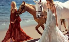 Chloe's Sun-Drenched S/S 2015 Campaign via @WhoWhatWear