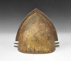 Bronze Age Vilanovan Crested Helmet - Lot No. 0740