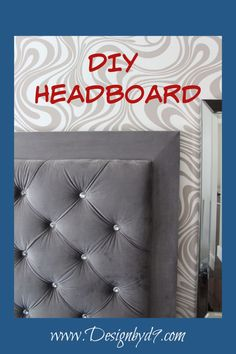 Do you drool over those gorgeous velvety tufted headboards you see in the home decor section? Well drool no more. Inexpensive and laid out in FOUR EASY STEPS. Let's create something fabulous. Furniture Makeover, Diy Furniture, Furniture Design, How To Make Diy Projects, Buzzfeed, Tufted Headboards, Pallet Benches, Pallet Tables, Pallet Bar
