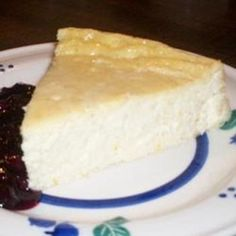 Sicilian Ricotta Cheesecake - Click image to find more popular food & drink Pinterest pins