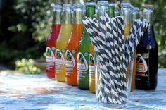 Or if you're looking for something with more flavor, there's always mexican sodas in glass bottles...