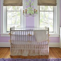 Antique Spindle Crib in Versailles Finish from PoshTots