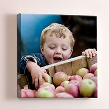 My husband really wants one of these: Photo Canvas from Snapfish