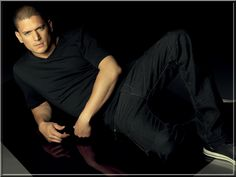 wentworth miller. dear LORD he's stunning!!!