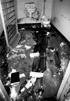 Seeks Ghosts: New Mexico State Penitentiary Riot, Part l Worst Riot in U.S ever in 1980. Still a ways from were i live but yet still a drive...omg
