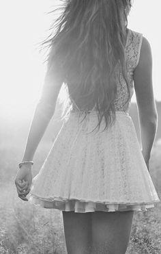 The sun, the dress, the hair. I die.